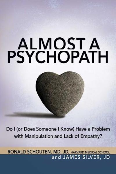 """Book Cover: """"Almost a psychopath"""""""