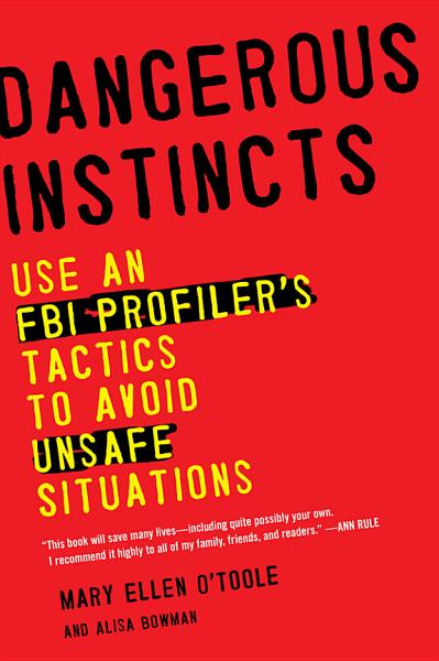 """Book Cover: """"Dangerous instincts"""""""