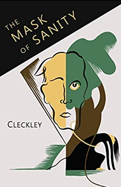 """Book Cover: """"The mask of sanity"""""""