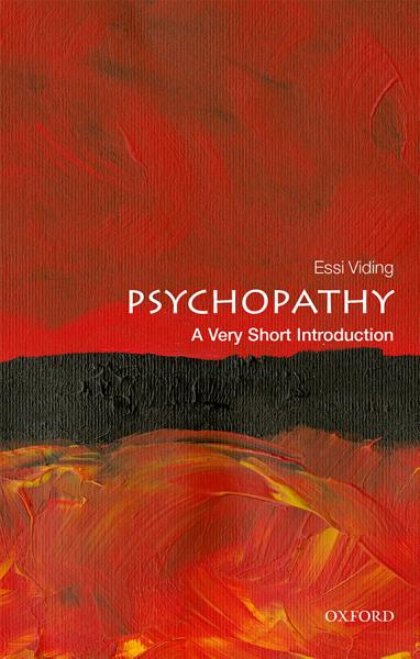 """Book Cover: """"Psychopathy A very short introduction"""""""