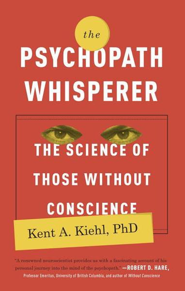 """Book Cover: """"The Psychopath Whisperer"""""""