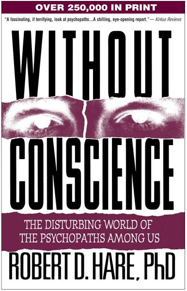 """Book Cover: """"Without conscience"""""""