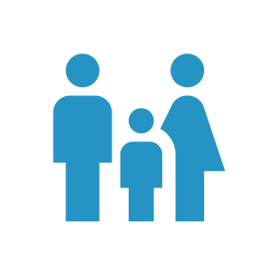 Graphic of family