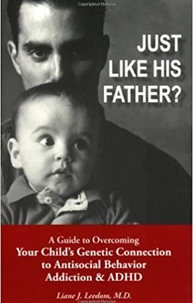 """Book cover """"Just Like his Father"""""""